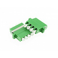 Fiber Optic LC/APC Quad Connector