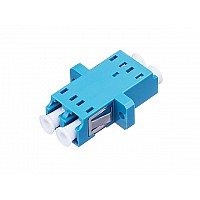Fiber Optic LC/UPC Duplex Connector