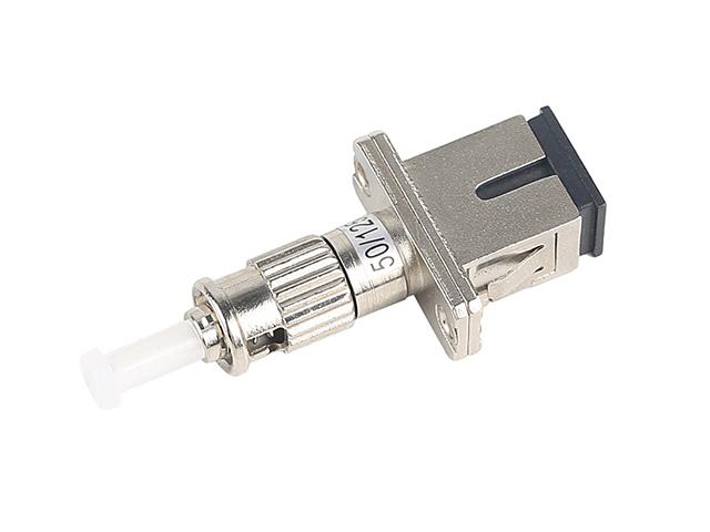 อุปกรณ์เเปลงหัวไฟเบอร์ออฟติกมัลติโหมดแบบ SC/UPC เป็น ST/UPC
