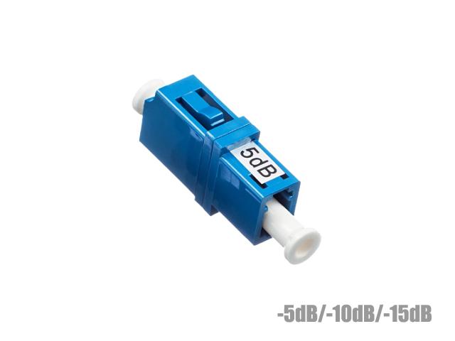 อุปกรณ์ลดทอนสัญญาณแสง LC/UPC ค่าลดทอน -5dB. -10dB. -15dB.