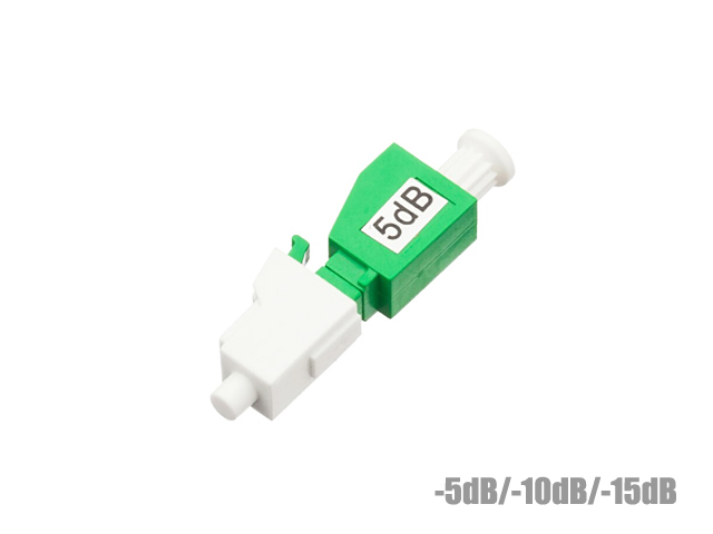 อุปกรณ์ลดทอนสัญญาณแสง LC/APC ค่าลดทอน -5dB. -10dB. -15dB.