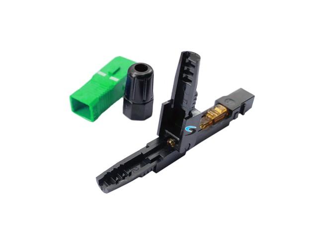 หัวไฟเบอร์ออฟติก SC/APC Fast Connector รุ่น 601