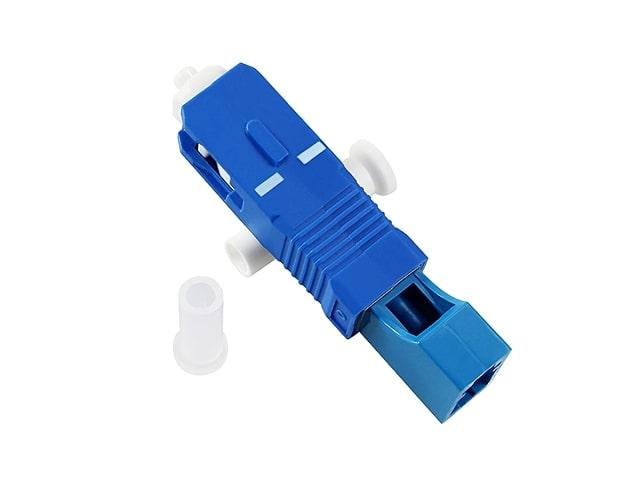 อุปกรณ์เเปลงหัวไฟเบอร์ออฟติกแบบ LC/UPC เป็น SC/UPC