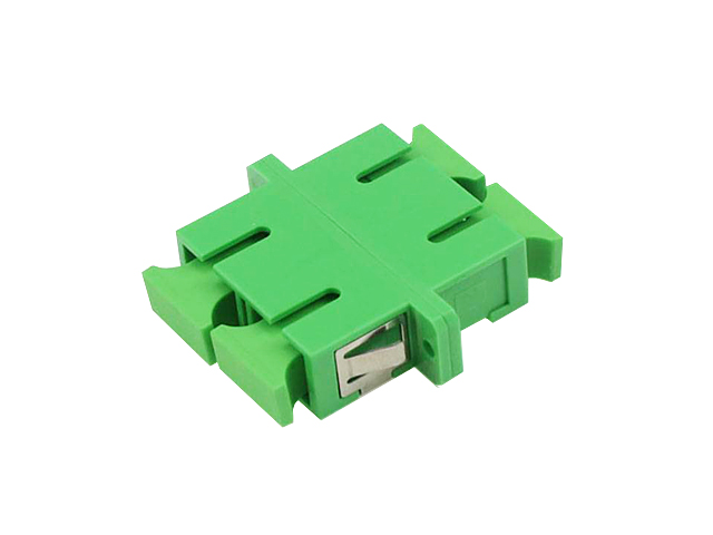 อุปกรณ์ต่อกลางหัวไฟเบอร์ออฟติกแบบ SC/APC (Duplex)