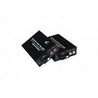 Audio To Fiber Converter 2 Rca 20KM WDM
