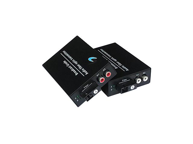 Audio To Fiber Converter 2 Rca 20KM WDM