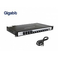 Gigabit Fiber Switch SC 16 Port + 2GE Uplink (WDM)