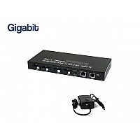 FIBER SWITCH 4 PORT GIGABIT+2LAN/G (WDM)