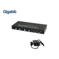 Gigabit Fiber Switch SC 4 Port + 2GE Uplink (WDM)