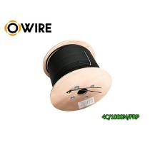 สายไฟเบอร์ออฟติก Owire 4 Core ม้วน 1000 เมตร มีสลิง