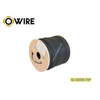 สายไฟเบอร์ออฟติก Owire 1 Core ม้วน 500 เมตร มีสลิง