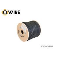 สายไฟเบอร์ออฟติก Owire 1 Core ม้วน 300 เมตร มีสลิง