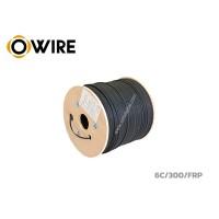 สายไฟเบอร์ออฟติก Owire 6 Core ม้วน 300 เมตร มีสลิง