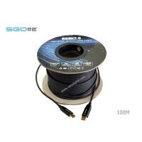 Fiber Optic Hdmi Cable 4K เวอร์ชั่น 2.0 ระยะ 100 เมตร