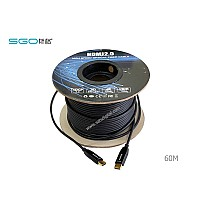 Fiber Optic Hdmi Cable เวอร์ชั่น 2.0 4K ระยะ 60 เมตร