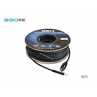 Fiber Optic Hdmi Cable 4K เวอร์ชั่น 2.0 ระยะ 40 เมตร