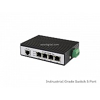 GIGABIT INDUSTRIAL SWITCH 4 PORT+1LAN/G UPLINK