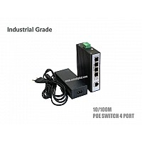 10/100M Industrial Poe Switch 4 Port + 1ET Uplink