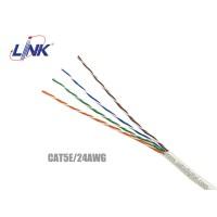 สายแลน CaT5E UTP LINK รุ่น US-9015-1 24AWG FRPVC (แบ่งขาย)