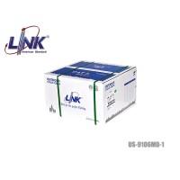สายแลน CAT6 UTP LINK รุ่น US-9106MD-1 / PE / มีสลิง (100 เมตร)
