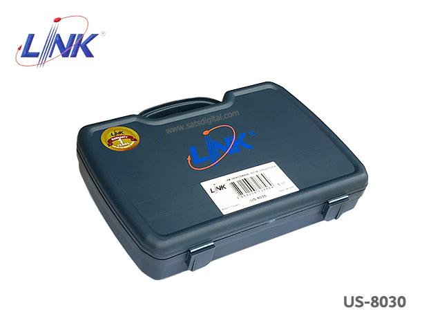ชุดเครื่องมือเข้าหัวแลน Link รุ่น US-8030 พร้อมกระเป๋า