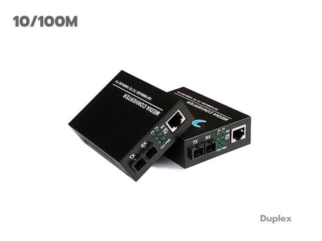 Media Converter 10/100 Mbps (Duplex)