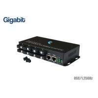 Gigabit Fiber Switch SC 8 Port + 2GE Uplink (WDM)