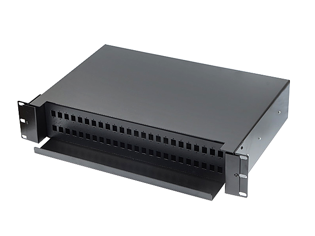 "ODF RACK MOUNT FIBER OPTIC 2U/19"" 48 CORE (WDM)"