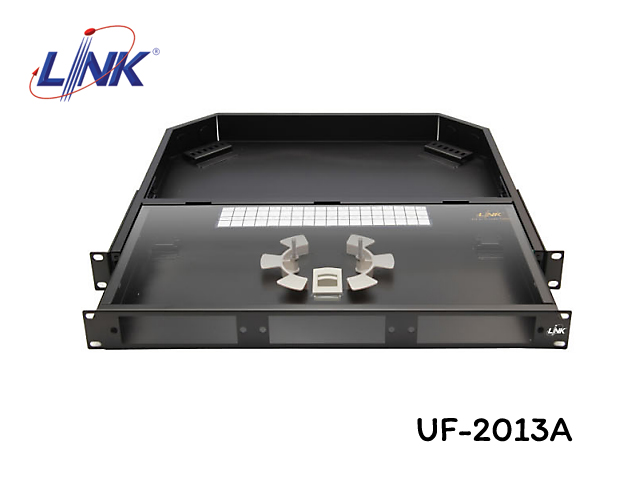 ODF RACK DRAWER FIBER OPTIC 1U LINK รุ่น UF-2013A