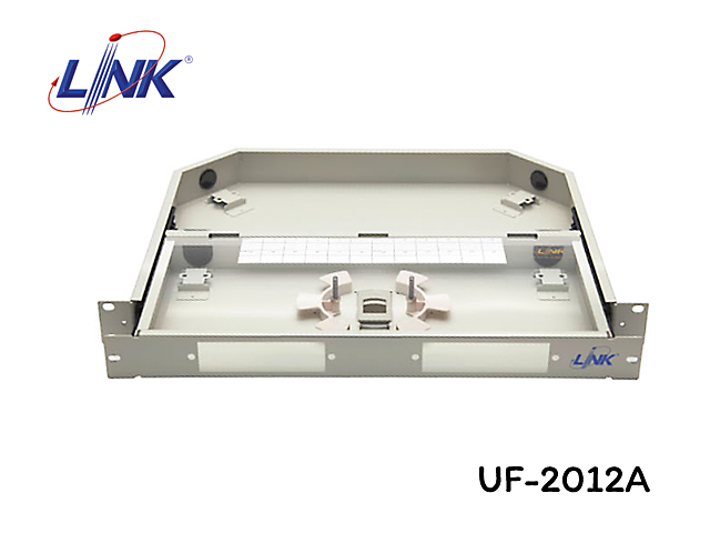 ODF RACK MOUNT FIBER OPTIC 1U LINK รุ่น UF-2012A