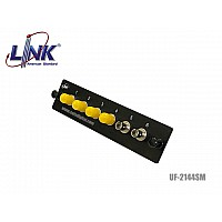 SNAP IN ADAPTER PLATE LINK UF-2144SM 6ST WDM