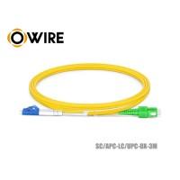 Patch Cord Fiber 9/125 Owire SM-DX SC/APC-LC/UPC (3 เมตร)
