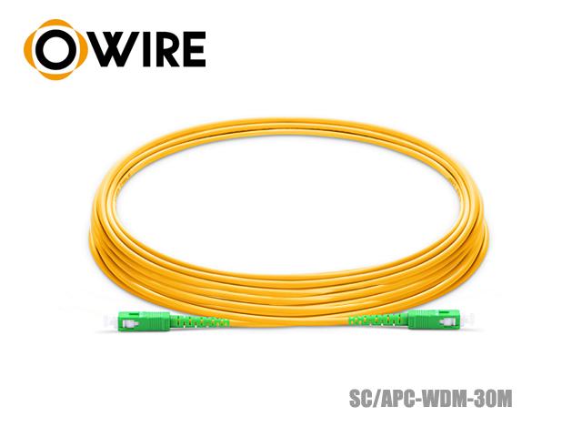 Patch Cord Fiber 9/125 Owire SM-SX SC/APC (30 เมตร)