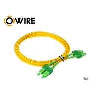 PATCH Cord Fiber SM Owire SC/APC DX 2mm (3M)