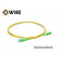 Patch Cord Fiber 9/125 Owire SM-SX SC/APC (1 เมตร)