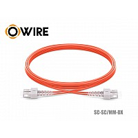Patch Cord Fiber OM2 50/125 Owire MM-DX SC-SC/UPC (3 เมตร)