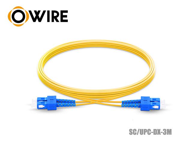 Patch Cord Fiber 9/125 Owire SM-DX SC/UPC (3 เมตร)