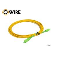 Patch Cord Fiber SM Owire SC/APC SX (5M)