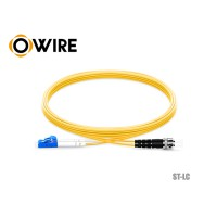 Patch Cord Fiber 9/125 Owire SM-DX ST-LC/UPC (3 เมตร)