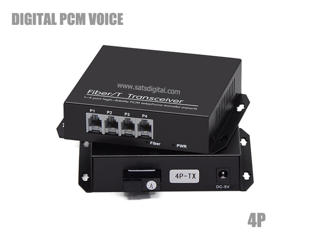 PCM DIGITAL VOICE OPTICAL 4 PHONE