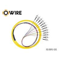 สายพิกเทล 12 Core OWIRE หัว FC/UPC ขนาด 0.9 มม. ยาว 1.5 เมตร