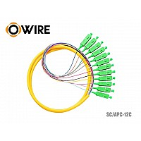 PIGTAIL 12 CORE OWIRE SC/APC 0.9MM (1.5 เมตร)