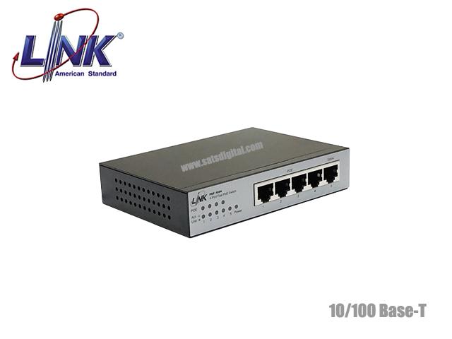 10/100M Poe Switch Link 4 Port + 1ET รุ่น PSF-1004