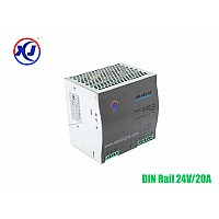 INDUSTRIAL POWER SUPPLY DIN RAIL 24V/20A กำลังไฟ 480W