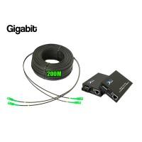 Ftth Drop 2 Core Owire 200 เมตร + Media Duplex Gigabit