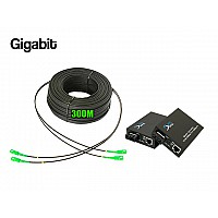 Ftth Drop 2 Core Owire 300 เมตร + Media Duplex Gigabit