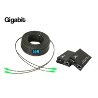 Ftth Drop 2 Core Owire 50 เมตร + Media Duplex Gigabit