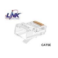 """หัวแลน CAT5E LINK รุ่น US-1001 / UTP / 50u"""""""