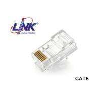 """หัวแลน CAT6 LINK รุ่น US-1002 / UTP / 50u"""""""
