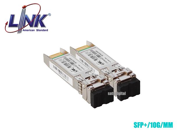 SFP MODULE MULTI MODE LINK 10G LC 300M 850-DX